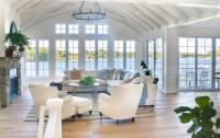 Lake House Living Room Decor - The Lilypad Cottage