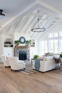 Lake House Living Room Decor - The Lilypad Cottage