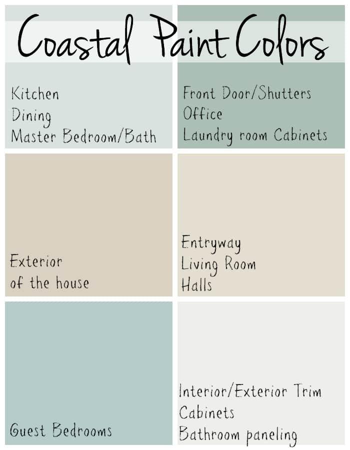 beachy living room wall colors plants ideas coastal paint the lilypad cottage beach house