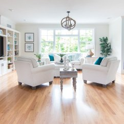 Beach Living Room Decor Furniture Leather And Upholstery Coastal Makeover The Lilypad Cottage