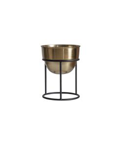 black gold indoor planter