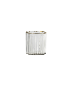ribbed tealight holder