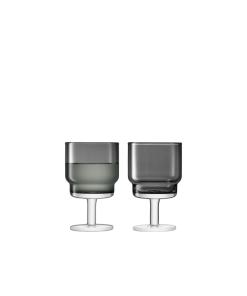 grey wine glasses
