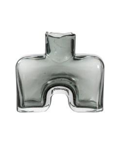 grey bottle vase