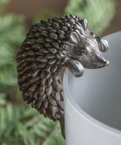 hedgehog pot hanger
