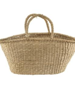 woven shopper basket