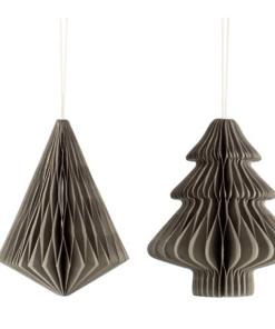 Honeycomb paper decorations