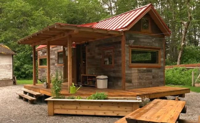 Diy How To Build Your Own Tiny House From Scratch The