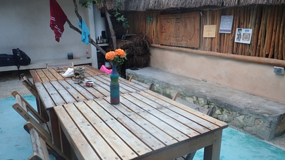 Chill Inn Hostel in Tulum Mexico - one of the best breakfasts I have had in a hostel. Definitely recommend staying there