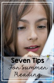 summer reading tips for struggling readers