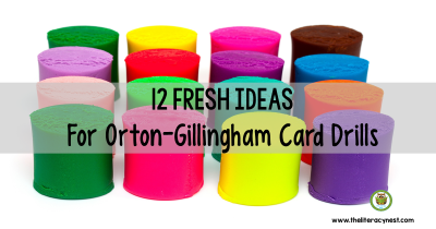 Orton-Gillingham sound cards drill cards