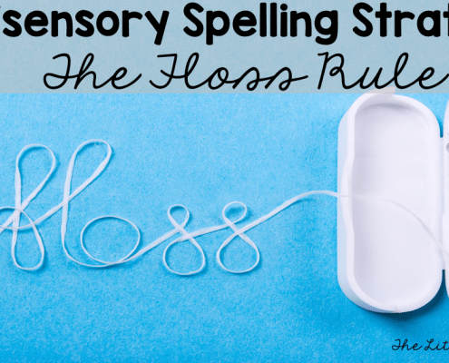 Floss Rule Spelling Activities