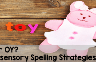 Multi-sensory Spelling Strategies