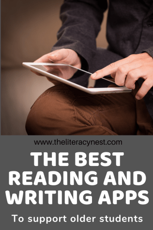 Apps for older struggling readers and writers