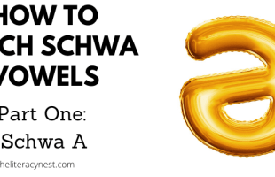 How to teach schwa vowels schwa A