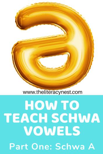schwa a vowels