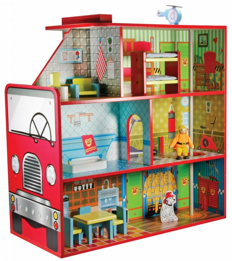 Wooden Fire Engine House