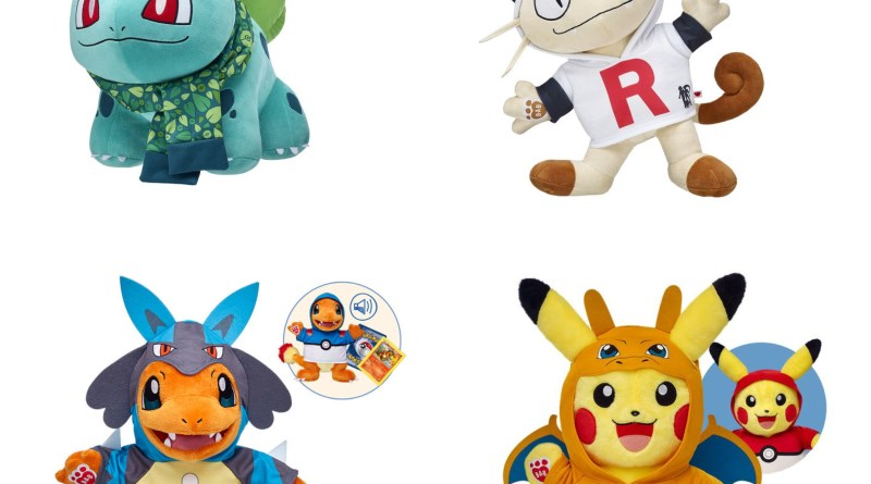 Save 25% on Pokemon Bundles @ Build A Bear