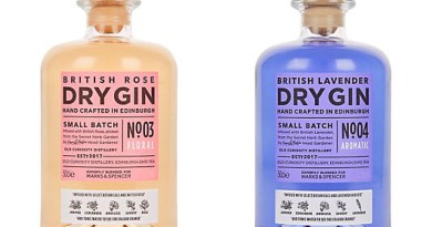 Colour changing Gin @ M&S