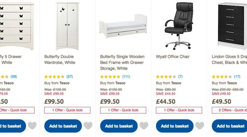 Tesco Direct Furniture Clearance