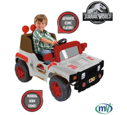 Jurassic World 6V Battery Operated Ride On Jeep