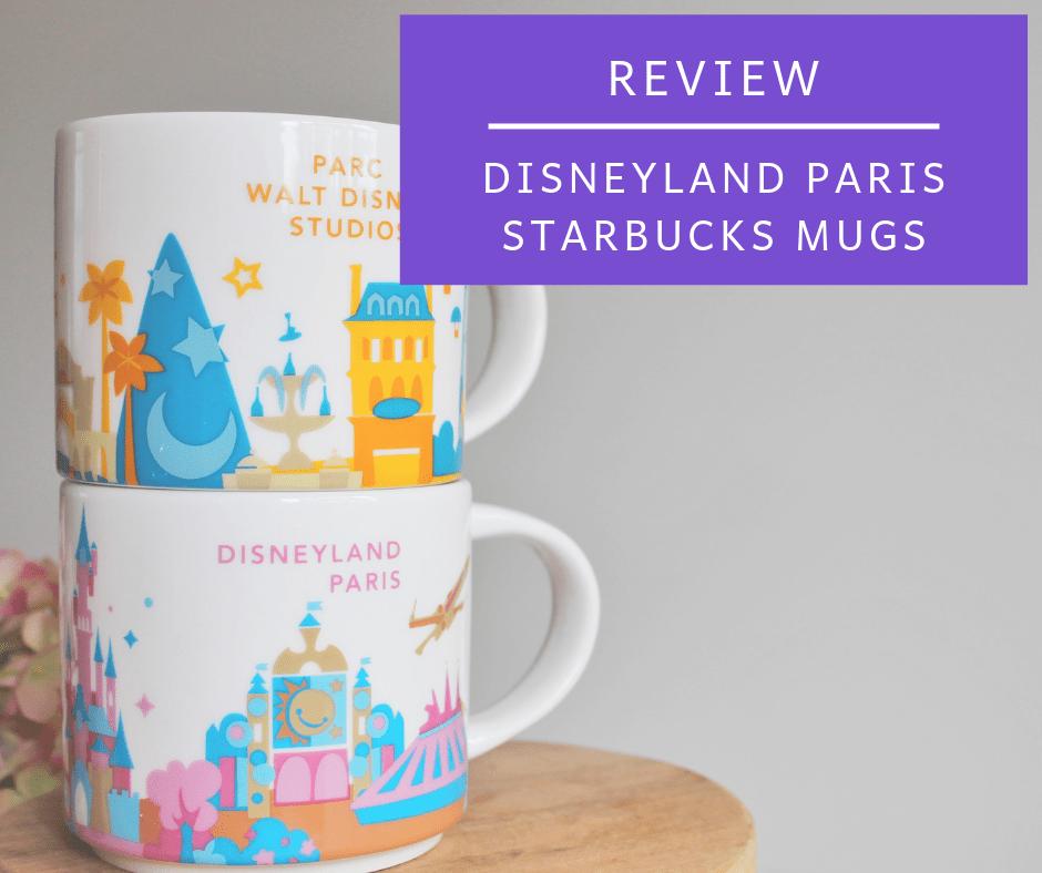 Disneyland Paris Starbucks Mugs