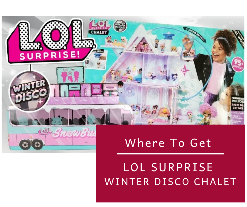 LOL Surprise Winter Disco Chalet