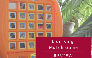 Review - Lion King Match Game