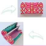 Zippered Necessary Clutch Wallet Tutorial