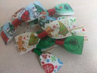 Assorted Christmas Bow Ties