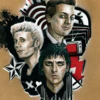 Stephane Lauzon - Portrait of Green Day