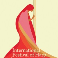 Incontrarsi a Salsomaggiore ass. - International Festival of Harp official poster