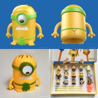 Minion toy designs for a Dutch supermarket