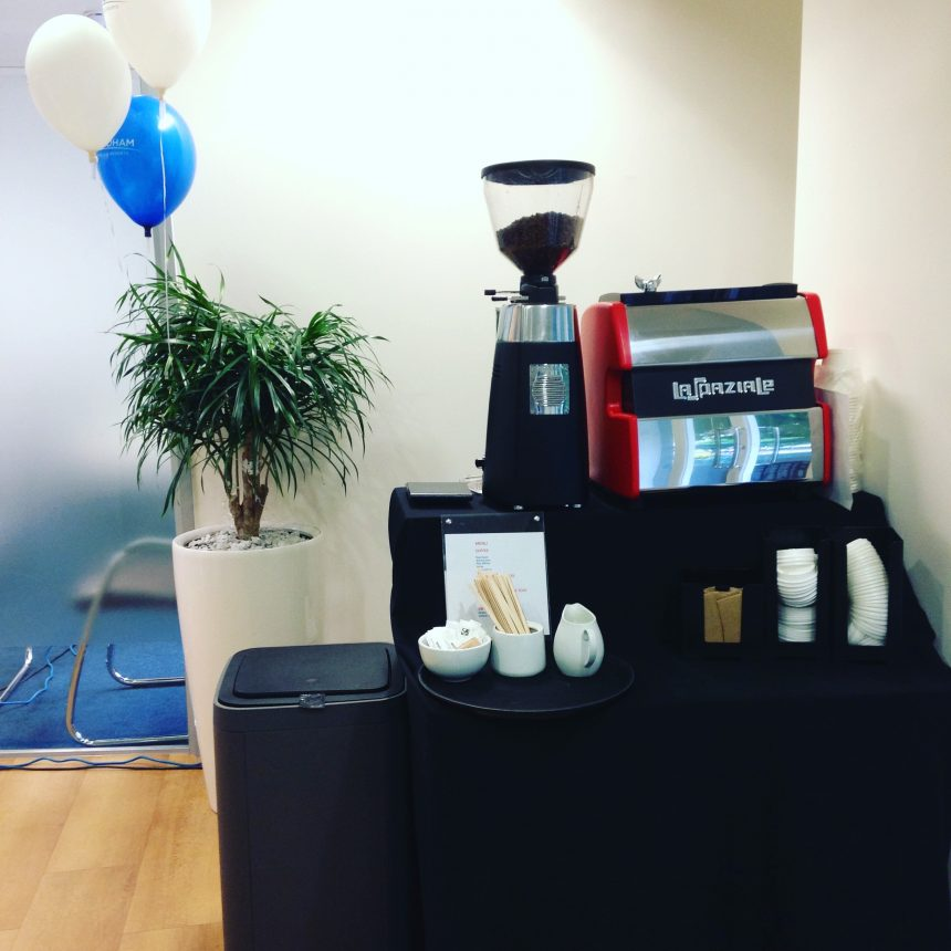Barista hire Events