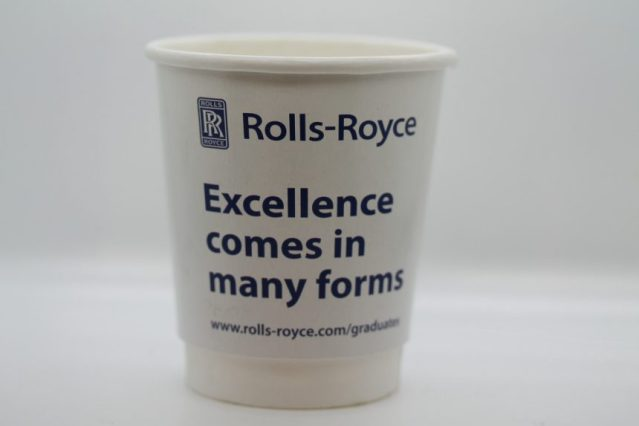Branded cups for branded events