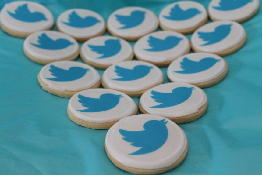 Branded biscuits for Twitter