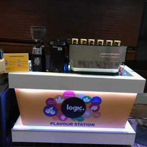 Branded Mobile Barista Station