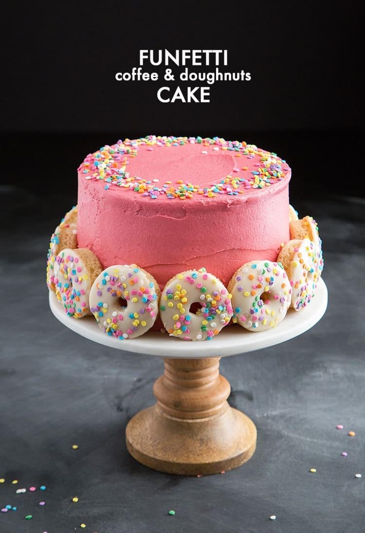 Funfetti Doughnut Cake The Little Epicurean
