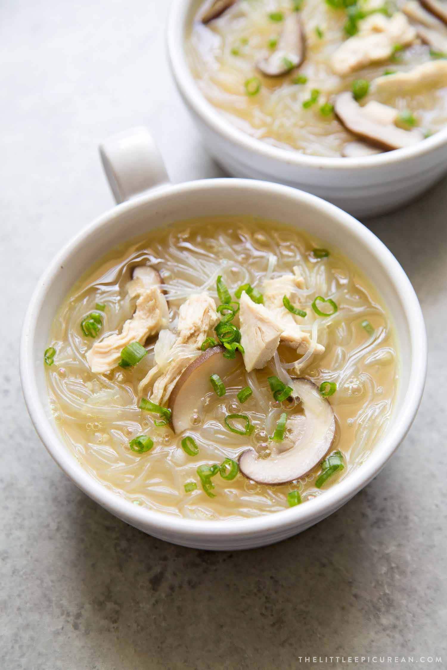 Chicken Noodle Soup Filipino Recipe