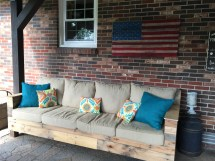 Frugal Patio Furniture And Ideas - Little