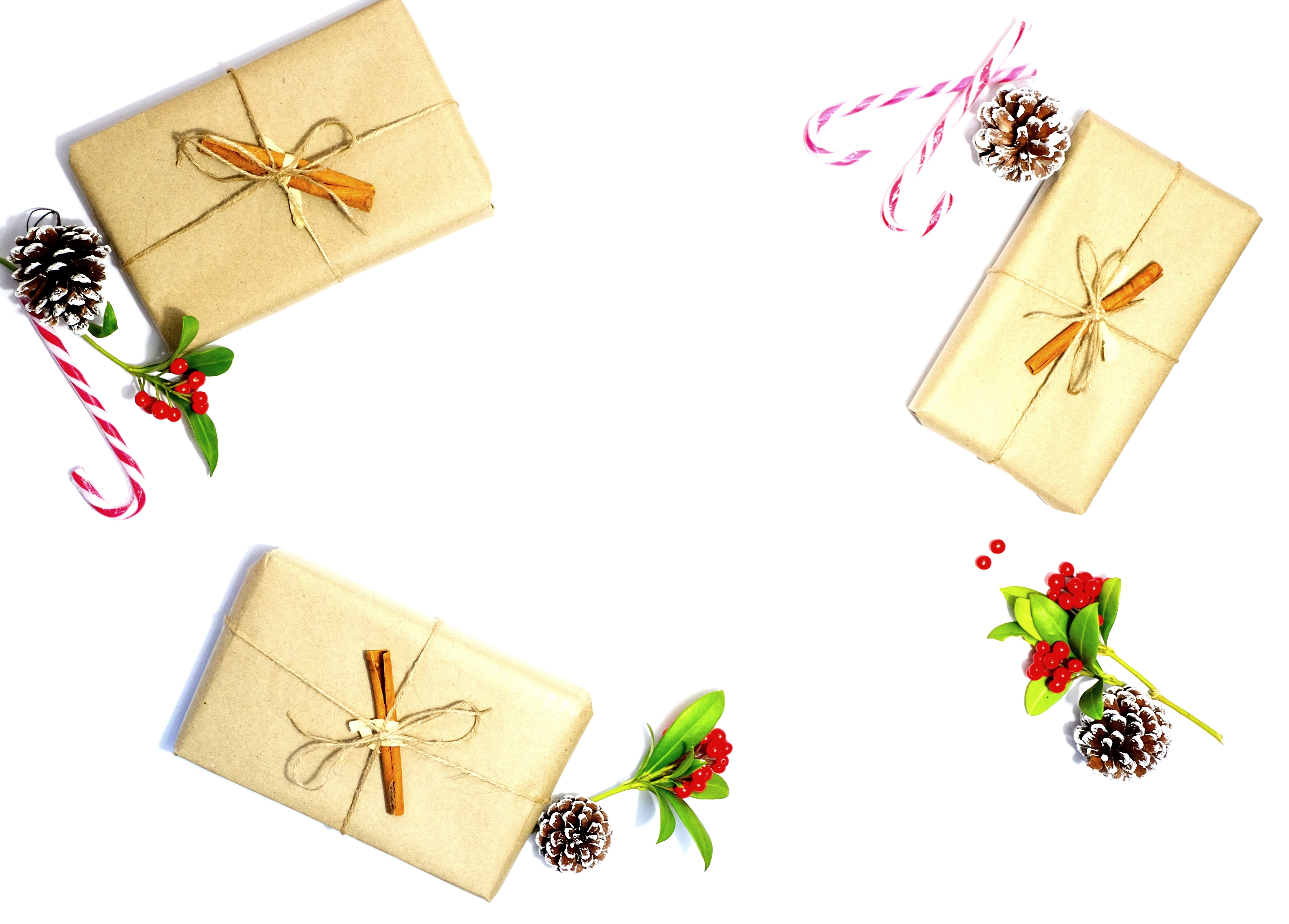 Bow Boxes Candy Cane