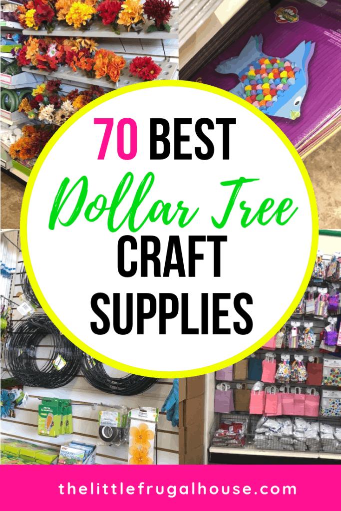the 70 best dollar tree craft supplies