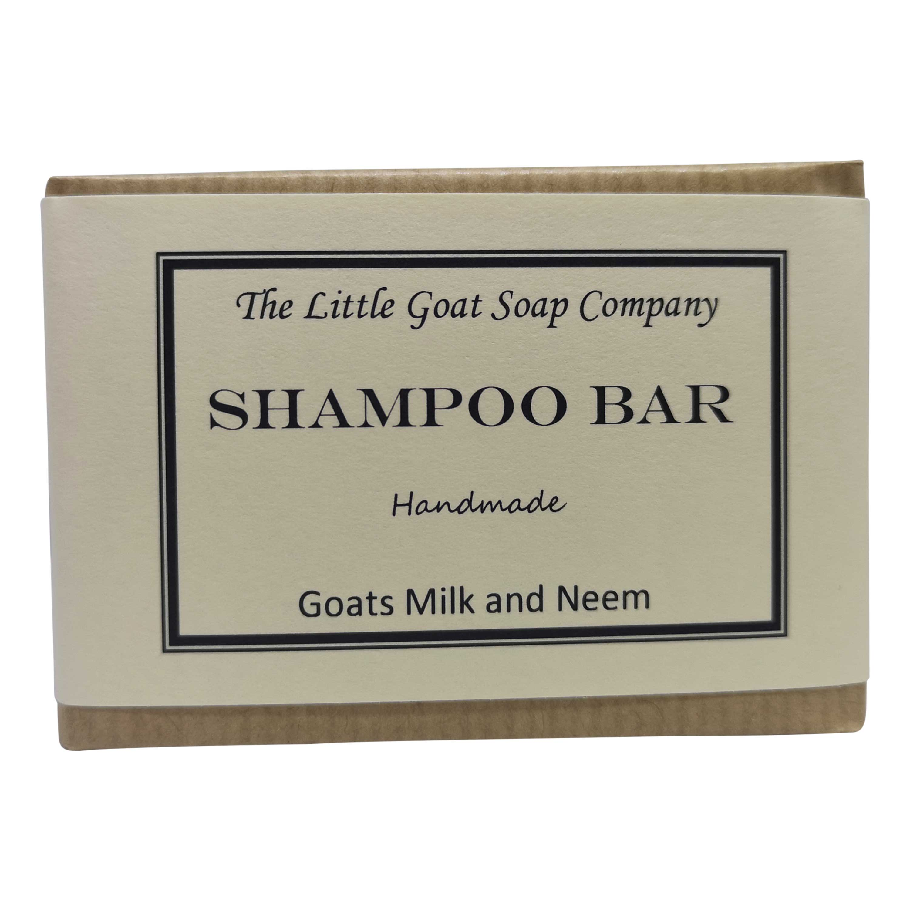 shampoo bar goats milk