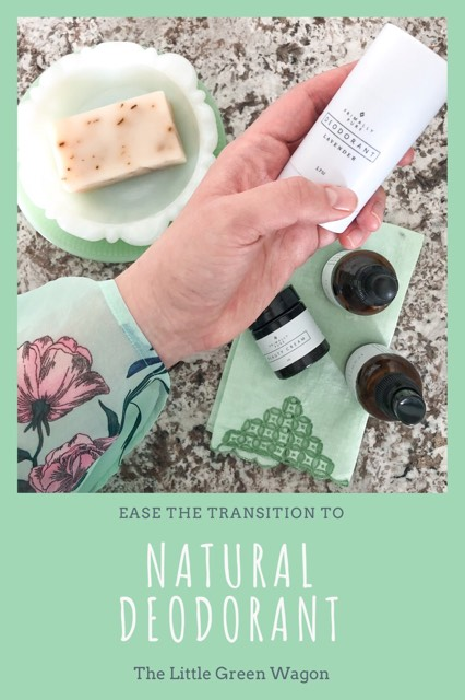 Ease the Transition to Natural Deodorant - The Little Green