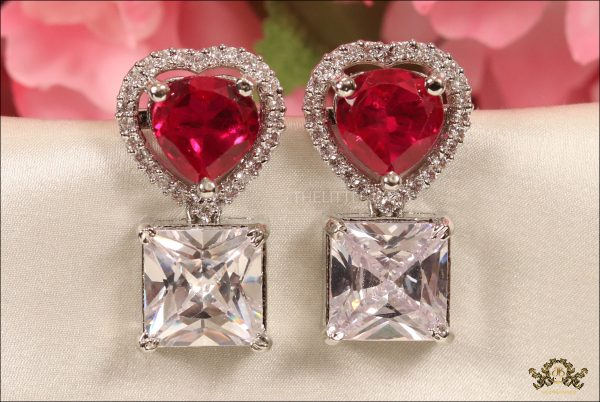 heart shaped ruby and