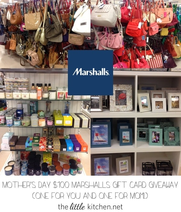 marshalls kitchen omega cabinets the mother s day 100 gift card giveaway little enter at thelittlekitchen net ends 5