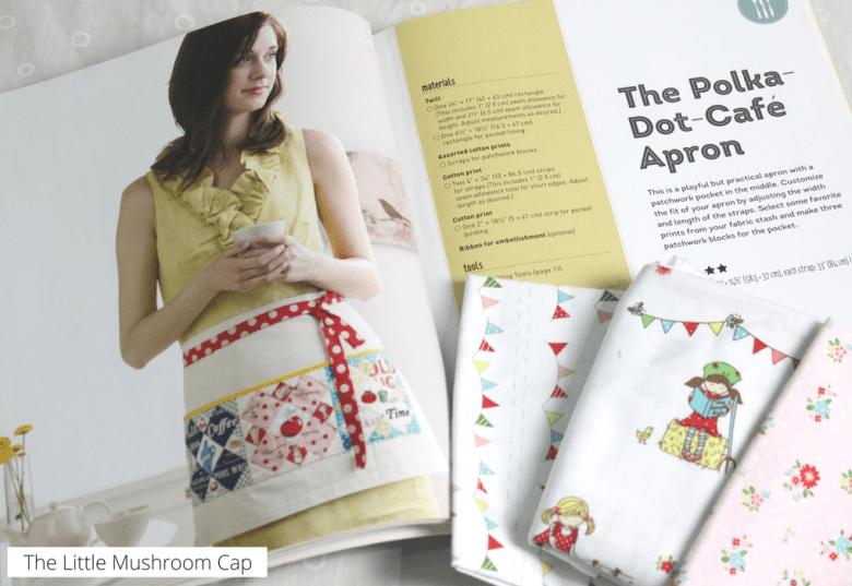 Handmade Garden Cafe Apron | Patchwork Please Book