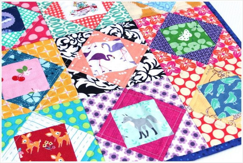Doll Quilt Swap 14  : Received