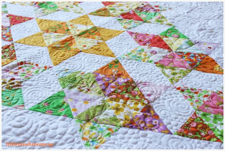 Briar Rose Starry Diamond Quilt