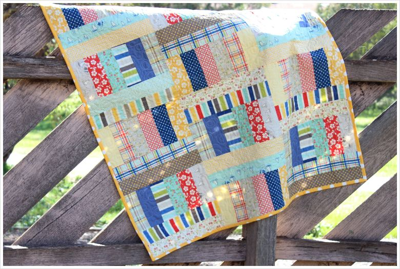 Jelly Roll Quilt: Jelly Roll Jam II